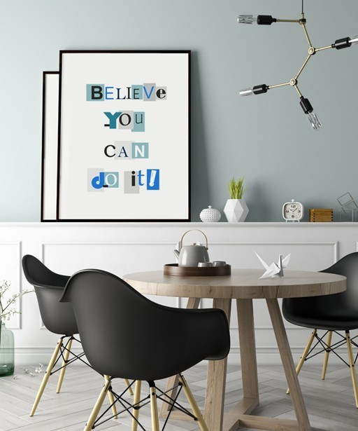 Plakat BELIEVE YOU CAN