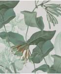 Tapeta w egzotyczne kwiaty