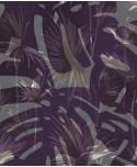 Tapeta w egzotyczne liście
