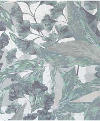 Tapeta roślinna miętowa