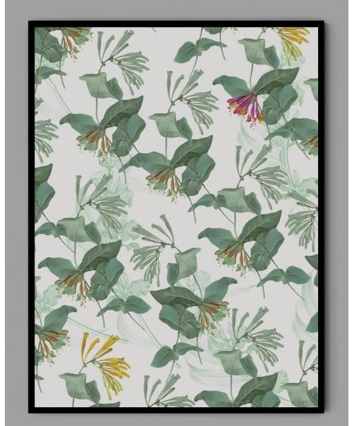 Plakat A3 egzotyczne kwiaty