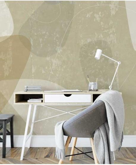 Wabi - sabi wallpaper in beidge