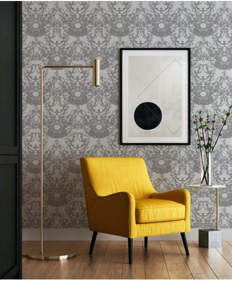 Wallpaper Lace (grey)