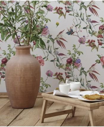 Wallpaper small flowers